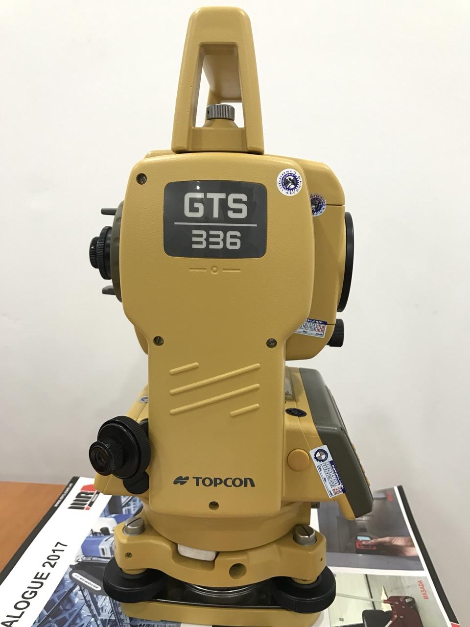 Máy toàn đạc cũ Topcon GTS 336