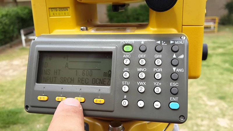 Máy toàn đạc điện tử Topcon GTS 255N